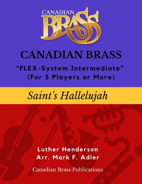 Saint's Hallelujah Flex-System Intermediate Level PDF Download (Henderson/arr. M. Adler)