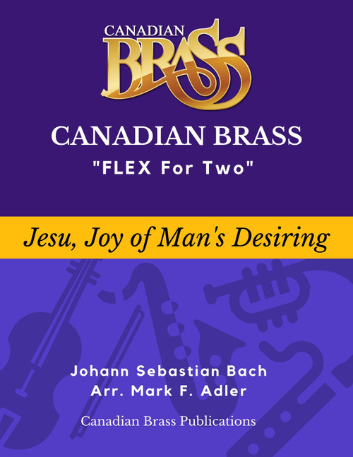 Flex for Two - Jesu, Joy of Man's Desiring  by J. S. Bach (arr. M. Adler) Educators Pak PDF Download