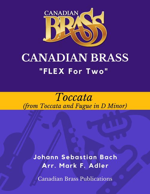 Flex for Two - Toccata by J. S. Bach (arr. M. Adler) Educator Pak PDF Download