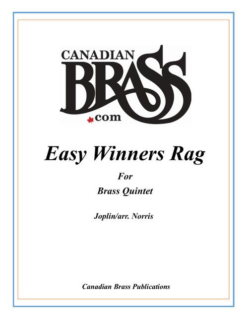 Easy Winners Rag Brass Quintet (Joplin/arr.Norris) PDF Download
