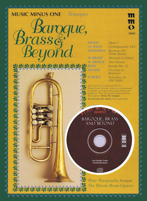 Baroque, Brass & Beyond (Music Minus One Trumpet)
