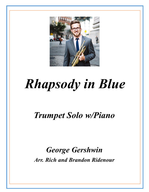Rhapsody in Blue for Trumpet and Piano (Gershwin/arr. Rich and Brandon Ridenour) PDF Download