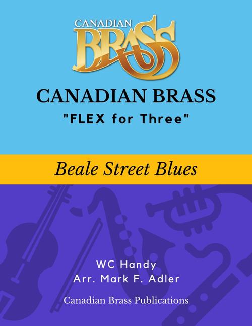 Flex for Three - Beale Street Blues by WC Handy (arr. M. Adler) Educator Pak PDF Download