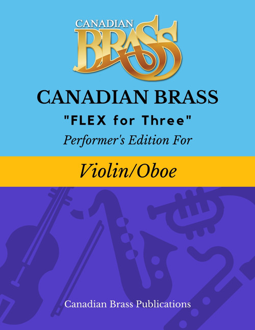 Flex for Three - Performer's Edition for Violin and or Oboe