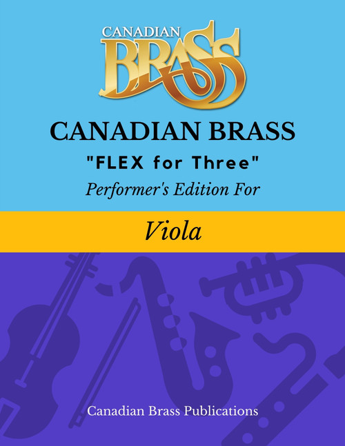 Flex for Three - Performer's Edition for Viola