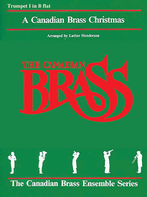 A Canadian Brass Christmas for Brass Quintet - All Brass Parts PDF Download