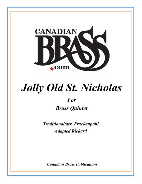 Jolly Old St. Nicholas Brass Quintet (Frackenpohl/Rickard) PDF Download