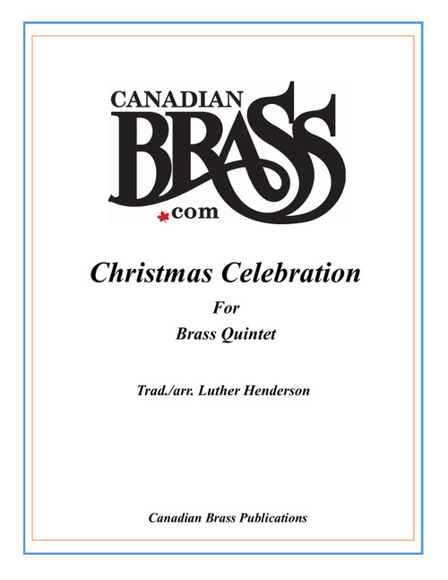 Christmas Celebration Brass Quintet (Trad./ Henderson) PDF Download