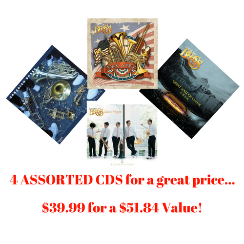 Canadian Brass ASSORTED  CD Pack #1 (4 CDs)