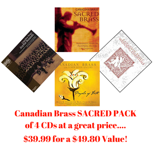 Canadian Brass SACRED CD COLLECTION (4 CDs)