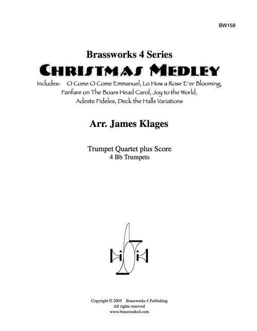 Christmas Medley for Trumpet Quartet (Trad./arr. Klages)