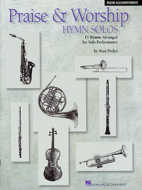 Praise & Worship Hymn Solos F Horn Play-Along Pack (Book/CD)