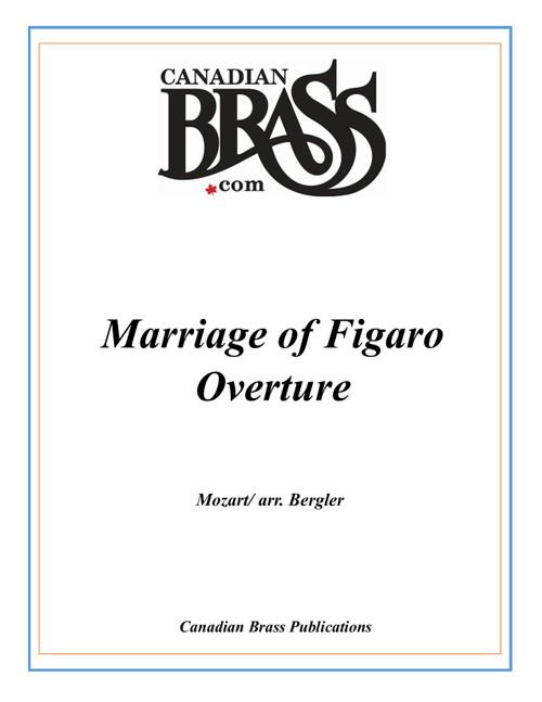 Marriage of Figaro Brass Quintet (Mozart/arr. Bergler) PDF Download