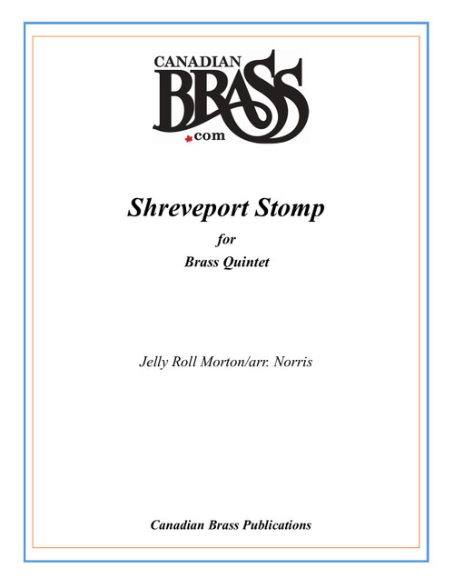 Shreveport Stomp Brass Quintet (Morton/arr. Norris) PDF Download