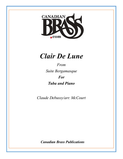 Clair De Lune for Tuba and Piano (Debussy/arr. McCourt) PDF Download