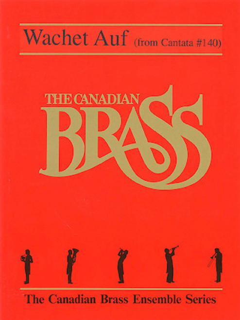 Wachet Auf Brass Quintet w/Optional Organ (Bach/arr. Mills) PDF Download