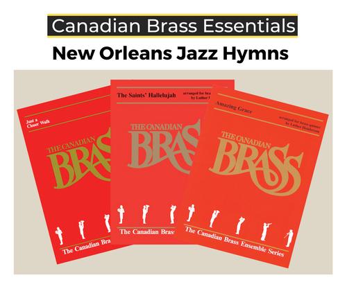 """Essential """"New Orleans Jazz"""" Hymns Brass Quintet PDF Download Bundle"""