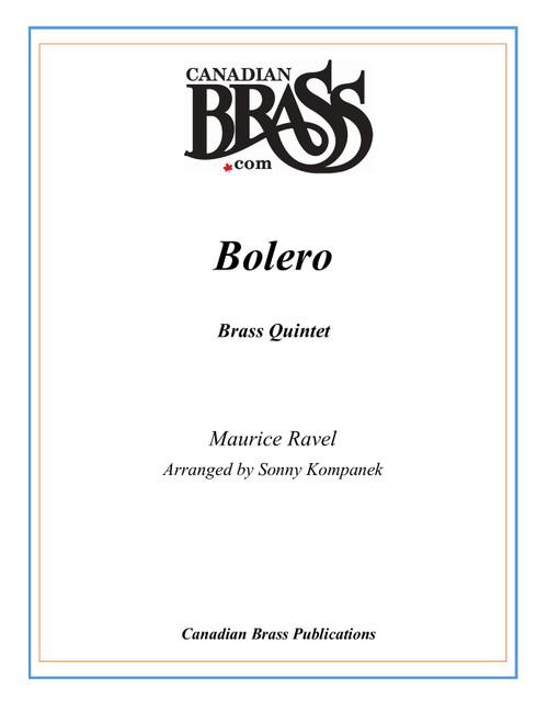 Bolero Brass Quintet (Ravel/arr. Kompanek) PDF Download