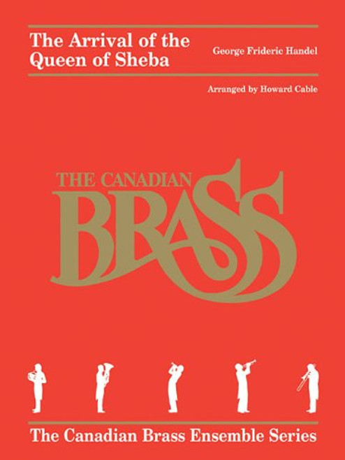Arrival of the Queen of Sheba Brass Quintet (Handel/arr. Cable) PDF Download
