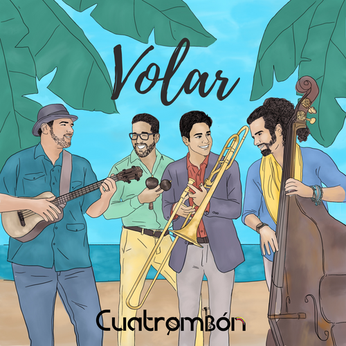 Volar by Cuatrombon - NEW Digital Recording in High Quality WAV files