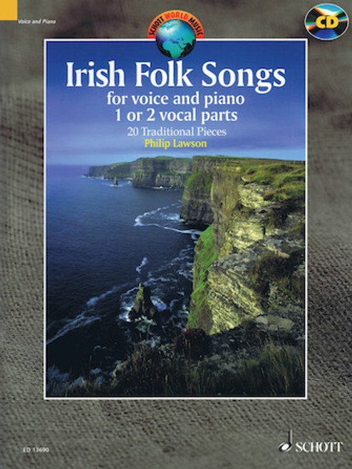 Irish Folk Songs for Voice and Piano