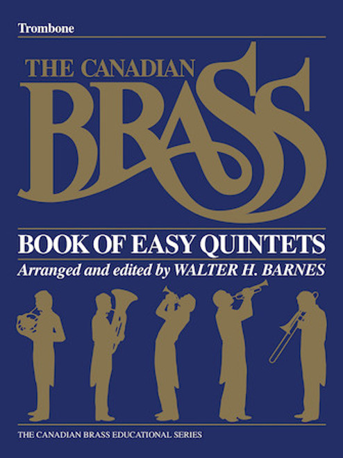Canadian Brass Book of Easy Quintets - Trombone PDF Download