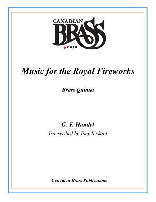 Music for the Royal Fireworks for Brass Quintet (Handel/arr. Rickard) PDF Download