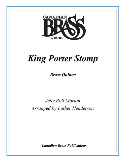 King Porter Stomp Brass Quintet (Morton/arr. Henderson) PDF Download