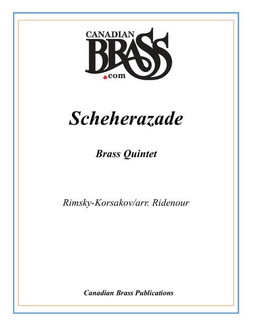 Scheherazade Brass Quintet (Rimsky-Korsakov/arr. Ridenour) PDF Download