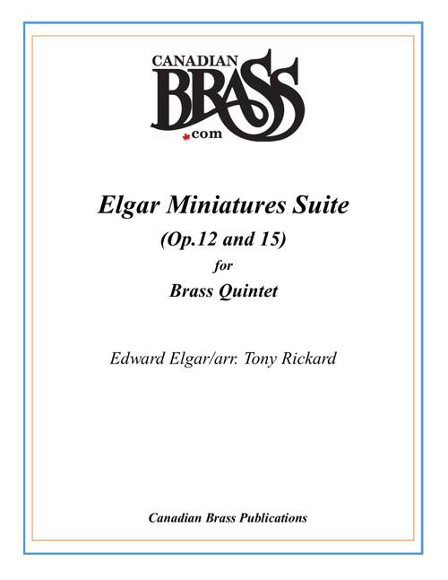 Elgar Miniatures Suite Brass Quintet (Elgar/arr. Rickard)