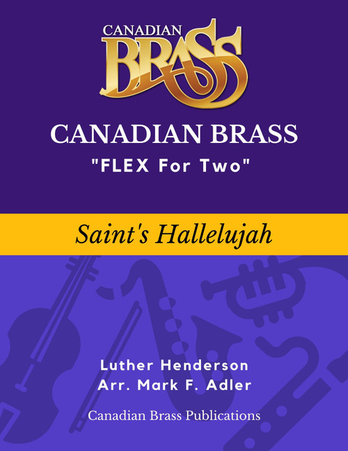 Flex for Two - Saint's Hallelujah by Luther Henderson (Adapted by M. Adler) Educators Pak Spiral Bound