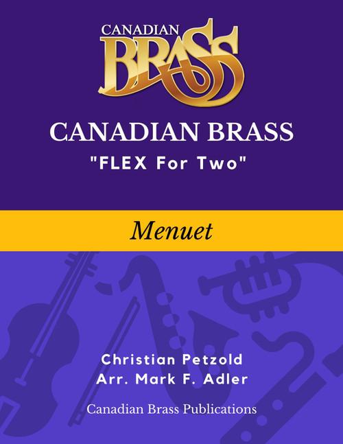 Flex for Two - Menuet by Christian Petzold (arr. M. Adler) Educators Pak Spiral Bound