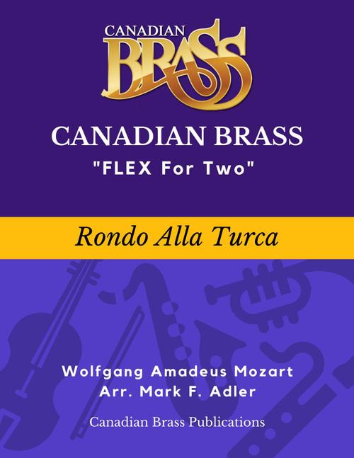 Flex for Two - Rondo Alla Turca by Wolfgang Mozart (arr. M. Adler) Educator Pak Spiral Bound