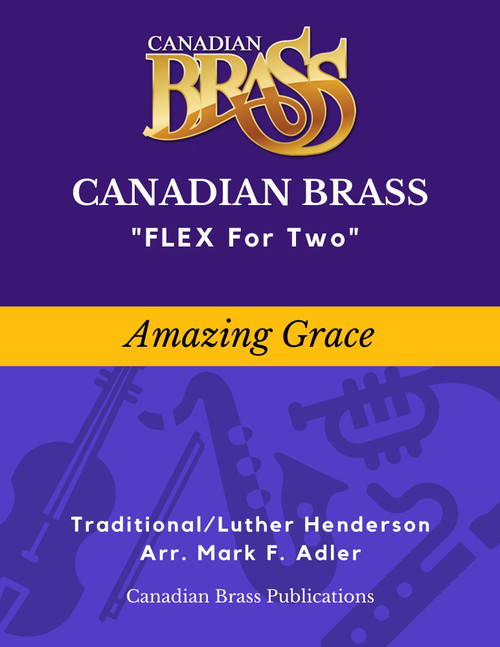 Flex for Two - Amazing Grace (arr. Luther Henderson/adapted M. Adler) Educator Pak Spiral Bound