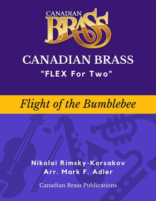 Flex for Two - Flight of the Bumblebee by Rimsky-Korsakov (arr. Ridenour/adapted M. Adler) Educator Pak Spiral Bound