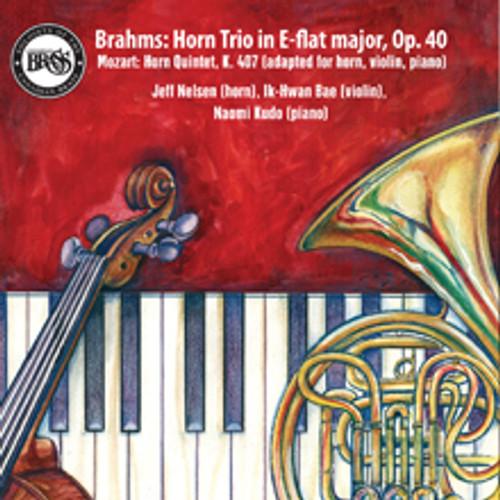Brahms: Horn Trio in E-flat major, Op.40 CD