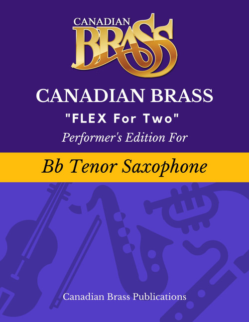 Flex for Two - Performer's Edition for Bb Tenor Sax Spiral Bound