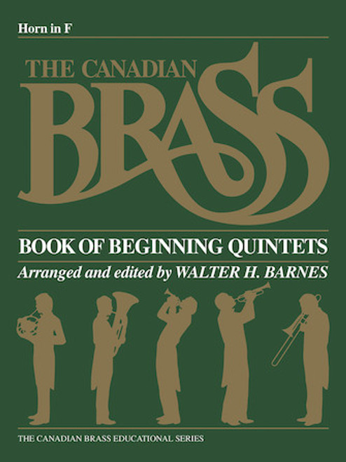 Canadian Brass Book of Beginning Quintets - Horn Book PDF Download