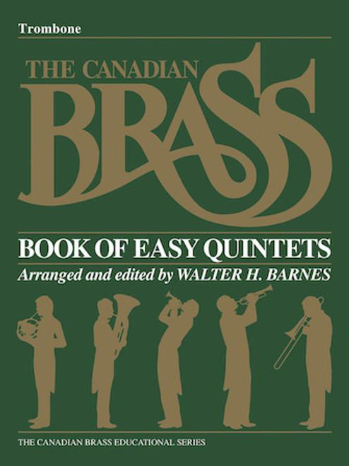 Canadian Brass Book of Beginning Quintets - Trombone Book PDF Download