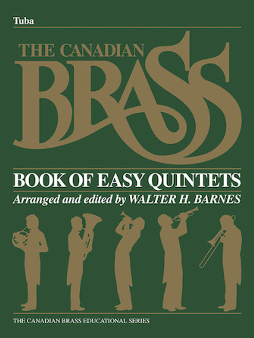 Canadian Brass Book of Beginning Quintets - Tuba Book PDF Download