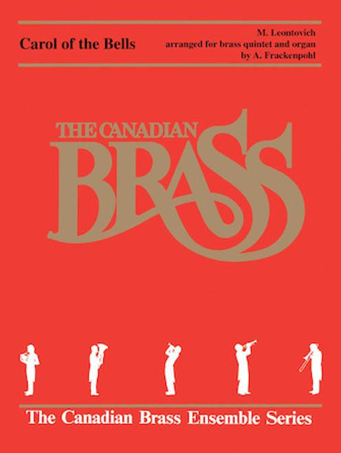 Carol of the Bells Brass Quintet and Organ (Leontovich/arr. Frackenpohl) PDF Download