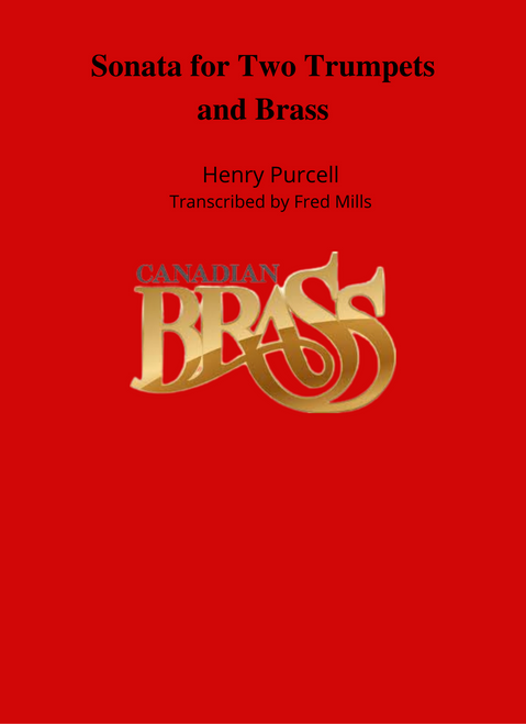 Sonata for Two Trumpets and Brass (Purcell/arr. Mills) PDF Download