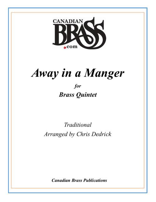 Away in a Manger Brass Quintet (Kirkpatrick/ arr. Dedrick) PDF Download