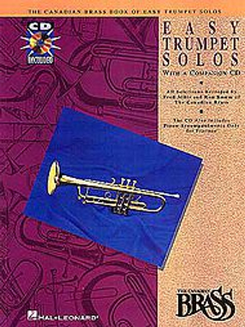 Canadian Brass Book of Easy Trumpet Solos (with CD of performances and accompaniments)