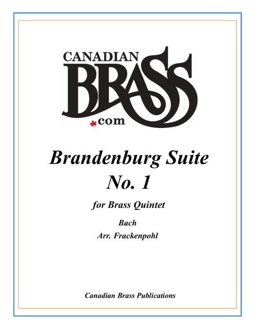 Brandenburg Suite 1 for Brass Quintet (Bach/arr. Frackenpohl)