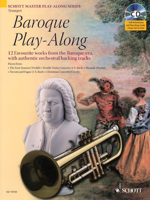 Baroque Play-Along (Book/CD)