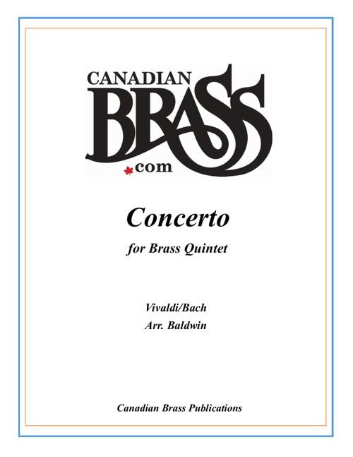 Concerto (Vivaldi/Bach) for Brass Quintet arr. Baldwin