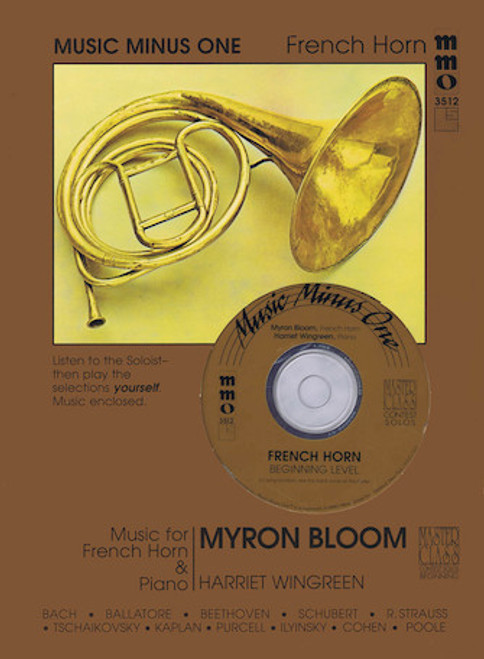 Beginning French Horn Solos - Volume 2 (Music Minus One)