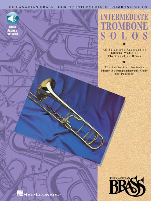 Canadian Brass Book of Intermediate Trombone Solos (w/online audio access)