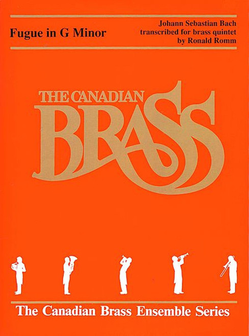 "Fugue in G minor, ""Little Fugue for Quintet"" brass quintet (Bach) arr. Romm"